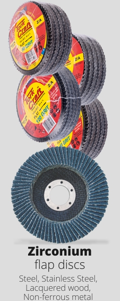 Zirconium Flap Discs