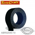 EMERY CLOTH 40GRIT 50MM X 10M ROLL