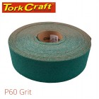 PRODUCTION PAPER GREEN P60 70MM X 50M
