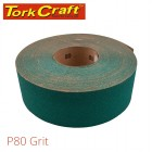 PRODUCTION PAPER GREEN P80 70MM X 50M