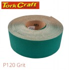 PRODUCTION PAPER GREEN P120 70MM X 50M