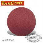 SANDING DISC 115MM 40 GRIT 10/PACK HOOK AND LOOP