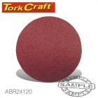 SANDING DISC 115MM 120 GRIT 10/PACK HOOK AND LOOP