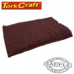 PAD NON WOVEN INDUSTRIAL STRENGTH 150 X 230MM SUPER FINE MAROON 20 PIE