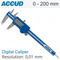 "DIGITAL CALIPER 0-200MM/0-8"" 0.01 METAL COVER"