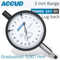 PRECISION DIAL INDICATOR LUG BACK 3MM