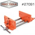 "PONY 4"" X 7"" WOODWORKER'S VICE"
