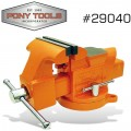 "PONY 4"" HEAVY-DUTY WORKSHOP BENCH VISE SWIVEL BASE"