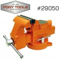"PONY 5"" HEAVY-DUTY WORKSHOP BENCH VISE SWIVEL BASE"
