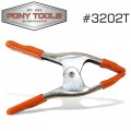 PONY 50MM SPRING CLAMP WITH PROTECTIVE HANDLES & TIPS