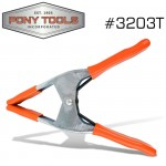 """PONY 3"""" SPRING CLAMP WITH PROTECTIVE HANDLES & TIPS"""