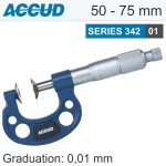 NON ROTATING SPINDLE DISK MICROMETER 50-75MM