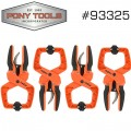 PONY 4PC RATCHET HAND CLAMP SET 2""
