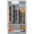 WOOD-STEEL-MASONRY DRILL BIT SET  9 PIECE 5 6-8