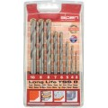 MASONRY DRILL BIT SET 8 PIECE LONG LIFE 3-10MM