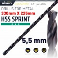 HSS DRILL BIT 5.5MM 330X225MM EXTRA LONG