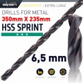 HSS DRILL BIT 6.5MM 350X235MM EXTRA LONG