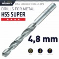 HSS SUPER DRILL BIT 4.8MM 1/PACK (182048)