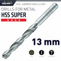 HSS SUPER DRILL BIT 13MM