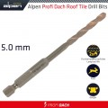 ROOF TILE DRILL BIT HEX 5.0MM 1/PACK