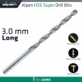 HSS SUPER DRILL BIT LONG 3 X 100MM  POUCH