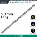 HSS SUPER DRILL BIT LONG 5 X 132MM POUCH