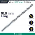 HSS SUPER DRILL BIT LONG 10 X 184MM POUCH