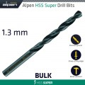 HSS SUPER DRILL BIT 1.3MM BULK
