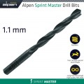HSS SPRINT MASTER DRILL BIT 1.1MM 1/PACK