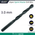 HSS SPRINT MASTER DRILL BIT 3MM 1/PACK (61503)