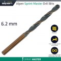 ALPEN SPRINT MASTER 6.2MM DIN 338 1/PACK