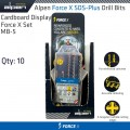 CARDBOARD DISPLAY FORCE X SET MB-5 X10