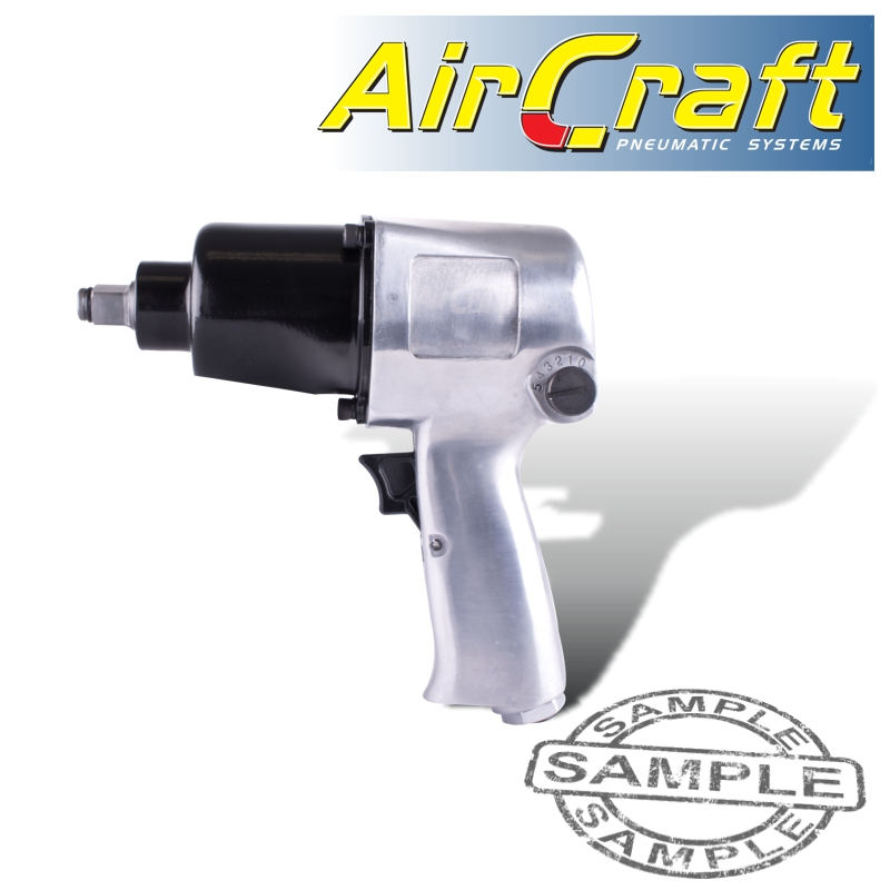 """12.5mm 1//2"""" Air Impact Wrench Pneumatic Twin Hammer Power Drive Removal Tool"""