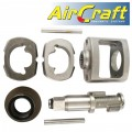 AIR IMP. WRENCH SERVICE KIT HAMMER FRAME & BUSHING (10-13) FOR AT000
