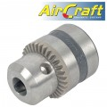 "CHUCK 13MM 3/8-24UNF  FOR AIR DRILL 10mm REVERSABLE 1800RPM (1/2"")"