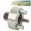 "IDLE GEAROIN & GEAR FOR AIR DRILL 12.5mm REVERSABLE 550RPM (1/2"")"