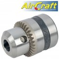 "CHUCK 13MM 3/8-24UNF FOR AIR DRILL 12.5mm REVERSABLE 550RPM (1/2"")"
