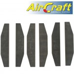 """VANES FOR 7""""HEAVY DUTY AIR ANGLE GRINDER X6 PER SET"""