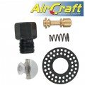 AIR DIE GRIND. SERVICE KIT VALVE STEM & MUFFLER (9-10/12-14) FOR AT002