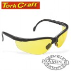 SAFETY EYEWEAR GLASSES YELLOW