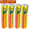 LR03 4S AAA 1.5V BATTERY X4 PACK SHRINK WRAP (MOQ 30)