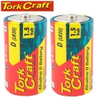 LR20 2S  D 1.5V BATTERY X2 PACK SHRINK WRAP (MOQ 48)