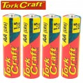 LR6 4S AA 1.5V BATTERY X4 PACK SHRINK WRAP (MOQ 30)