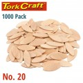 BISCUITS #20 PER BOX OF 1000 TORK CRAFT