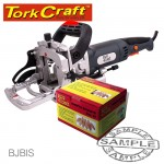 BISCUIT JOINTER AND FREE BOX  #20 BISCUITS SPECIAL