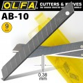 OLFA BLADES AB-10 10/PACK 9MM