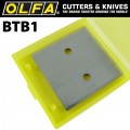 OLFA SPARE SCRAPER BLADES FOR BTC1 43MM