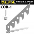 OLFA BLADES COB-1 3/PACK 5MM