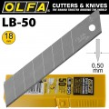 OLFA BLADES LB-50 50/PACK 18MM