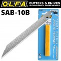 OLFA BLADES FOR SAC1 10/PK BLISTER 9MM